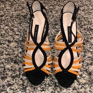 Zara basics heels